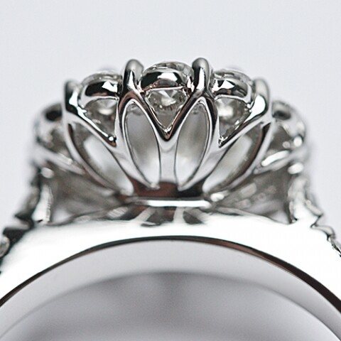 A Customized Engagement Ring