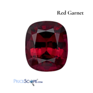 January Birthstone 2021: Red Garnet