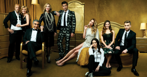 The Rose Family of Schitt's Creek (via Toronto Life)