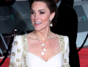 Duchess of Cambridge in Van Cleef and Arpels