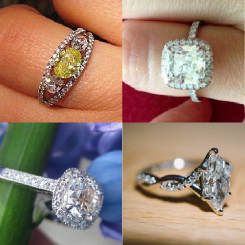 January's Throwbacks: Four Fabulous Rings