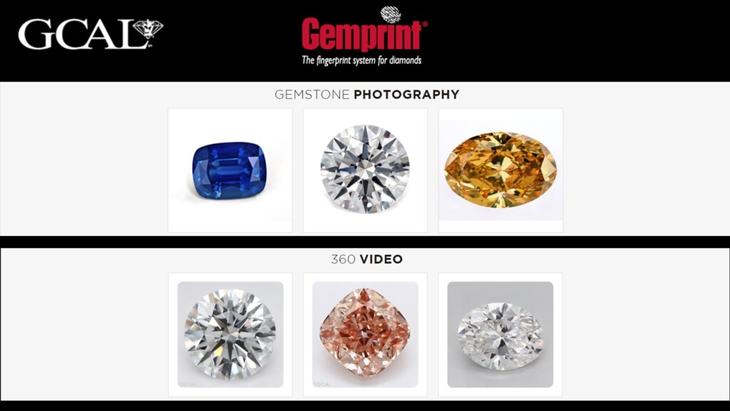diamond certification - GCAL Supplemental information online: Video and Photos