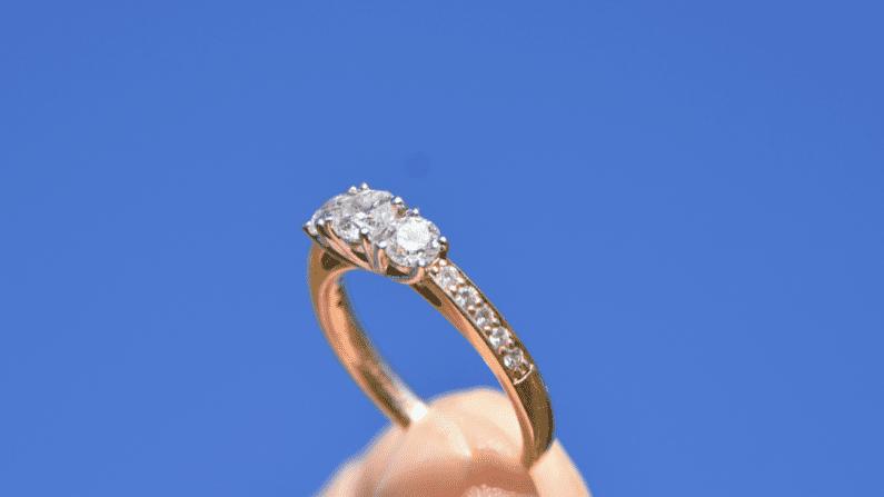 Diamond Engagement Ring. Image Source: Michelle McEwen on Unsplash.