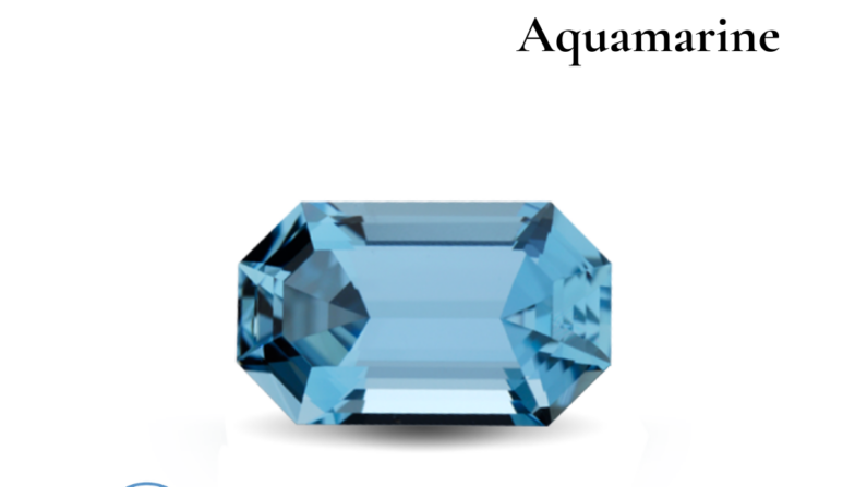 March Birthstone - Aquamarine.