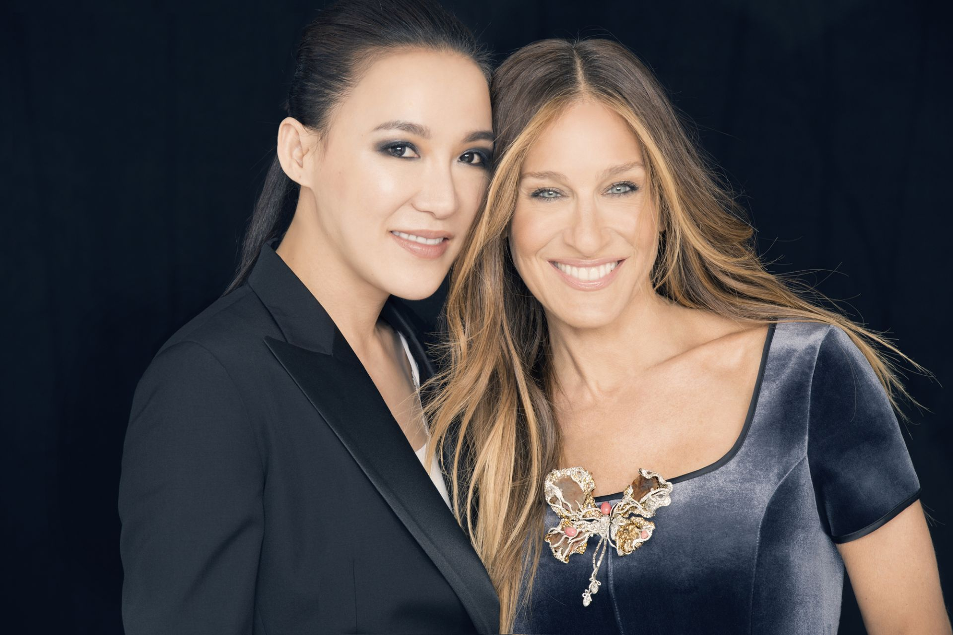 Cindy Chao and Sarah Jessica Parker.