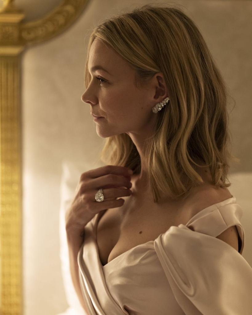 Globes 2021 Carey Mullligan by Greg Williams in Cartier