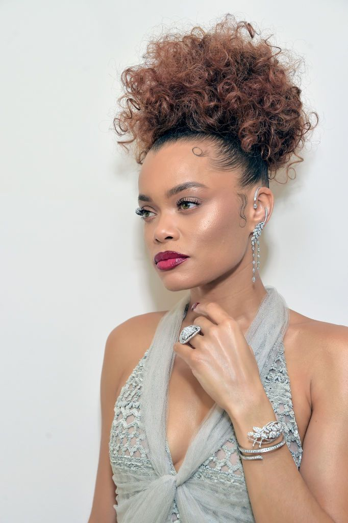 Golden Globes 2021 Jewelry Andra Day Chanel Jewelry