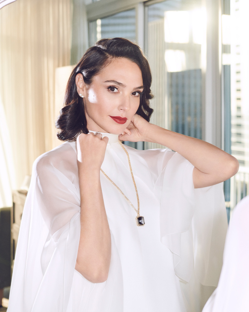 Golden Globes 2021 Jewelry Gal Gadot Tiffany and Co