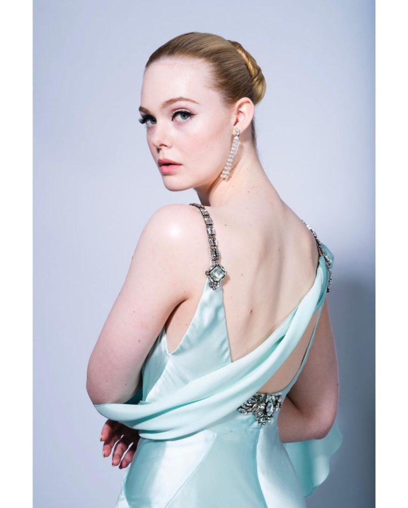 Golden Globes 2021 Jewels Elle Fanning Fred Leighton