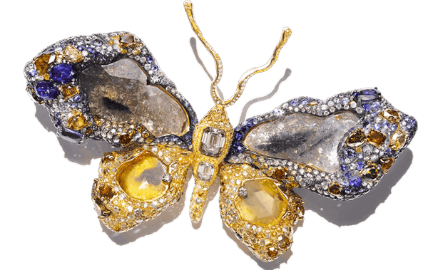 Royal Butterfly Brooch.