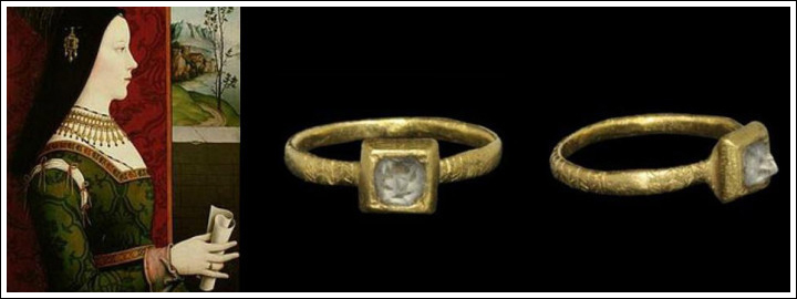 Mary of Burgundy Engagement Ring.