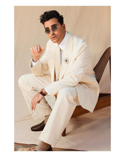 Dan Levy wearing The Row and Cartier