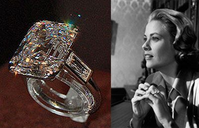 Grace Kelly's engagement ring upgrade.