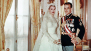 Actress Grace Kelly and Prince Rainier III of Monaco's Wedding