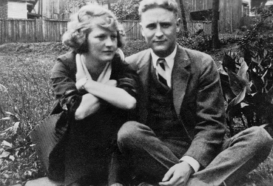 F. Scott Fitzgerald and Zelda Sayre