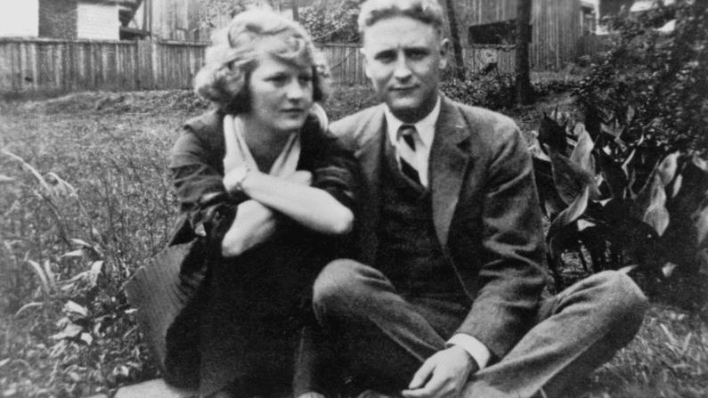 F. Scott Fitzgerald and Zelda Sayre