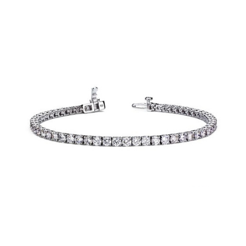 I.D. Jewelry Diamond Bracelet Set.