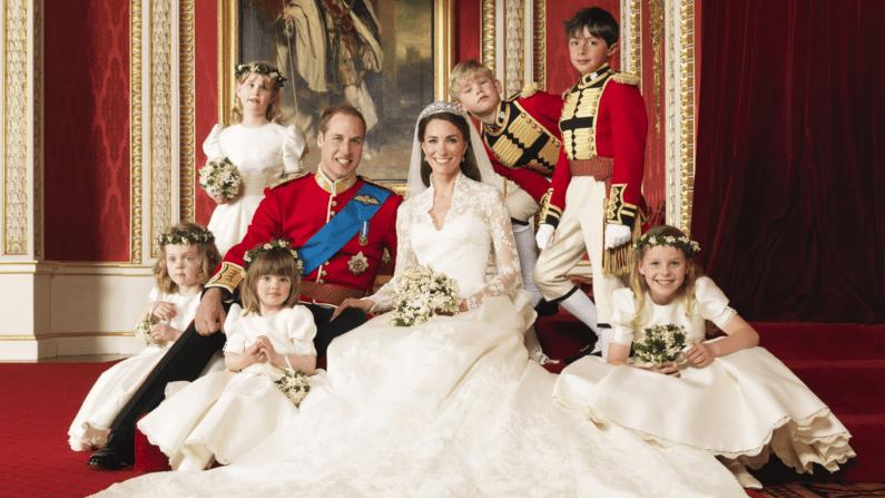 Prince William, Duke of Cambridge and Catherine, Duchess of Cambridge Wedding. Image Source: photographer Hugo Burnand.
