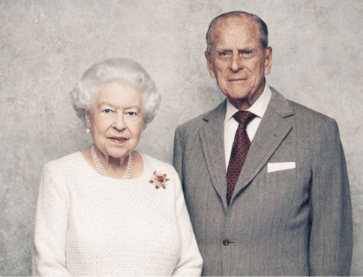 Queen Elizabeth II and Prince Philip.
