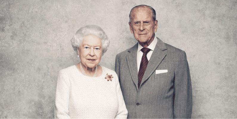 Queen Elizabeth II and Prince Philip.