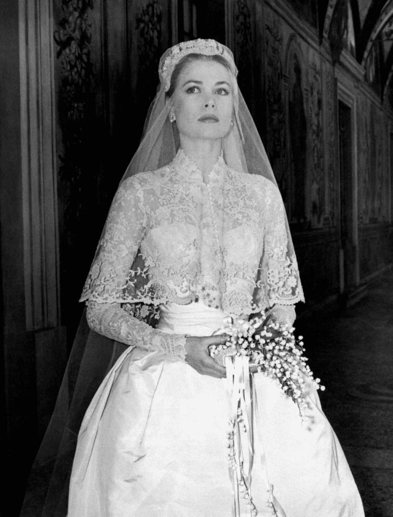 Grace Kelly wedding gown.