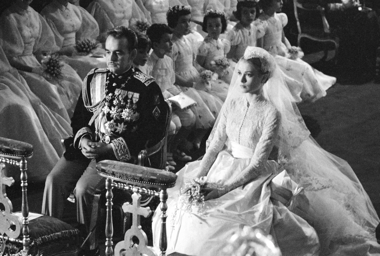 Grace Kelly's wedding to Prince Rainier III of Monaco.