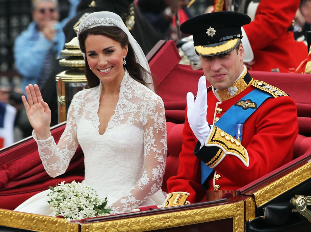 Prince William, Duke of Cambridge and Catherine, Duchess of Cambridge Wedding. Image Source: Getty / Sean Gallup.
