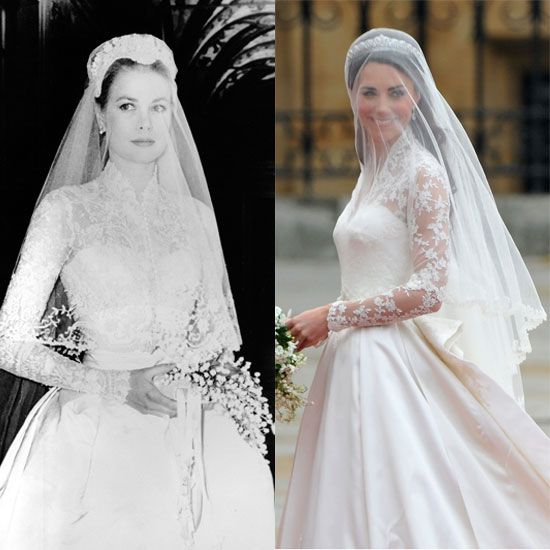 Grace Kelly and Kate Middleton.