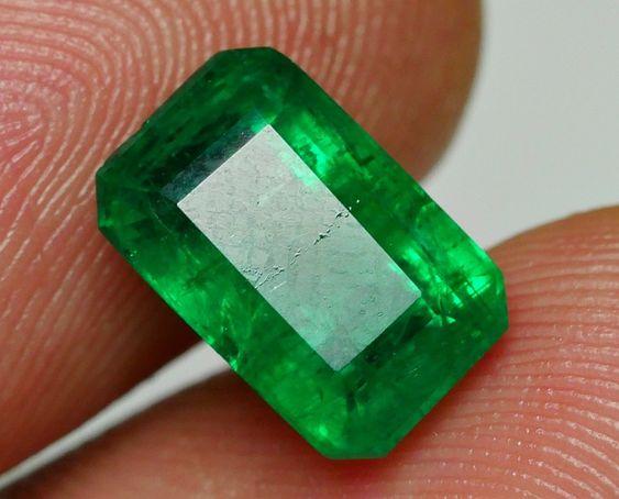 Zambian Green Emerald.