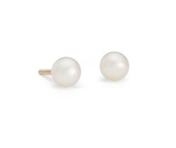 Children's Freshwater Cultured Pearl Earrings