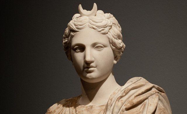 The Greek Goddess of the Moon, Selene.