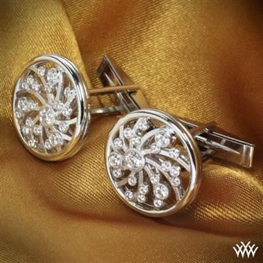 Platinum Dreams of Africa™ Cufflinks.
