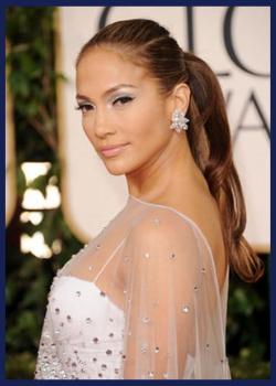 Jennifer Lopez at the 2011 Golden Globes.