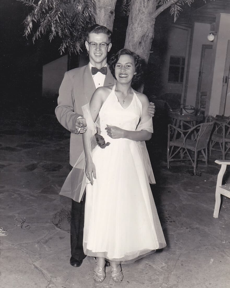 The author's grandparents.