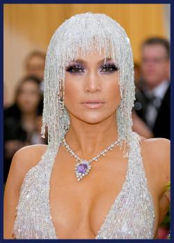 Jennifer Lopez at the 2019 Met Gala.