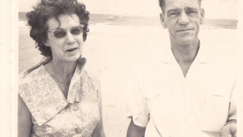 The author's great-grandparents.