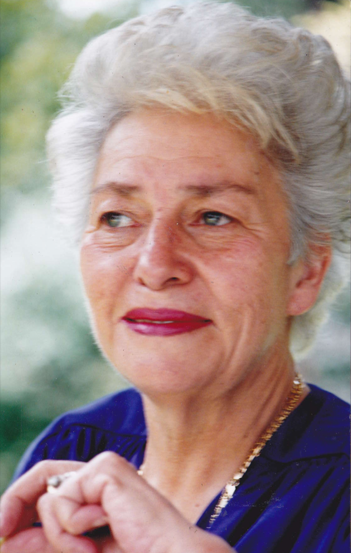 Portrait of the author's grandmother.