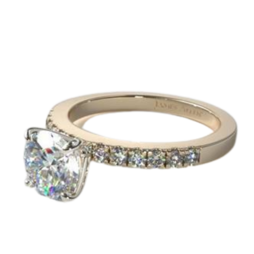 Micro Pave 12 Stone Ring from James Allen