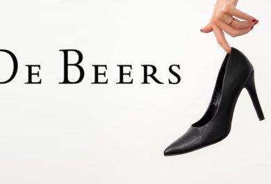 DeBeers shoe drop.