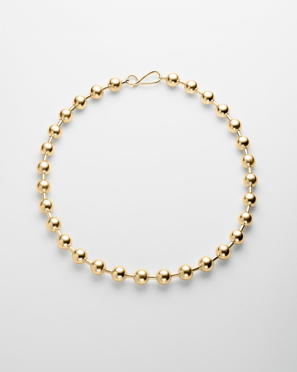 Gold Solar Necklace.