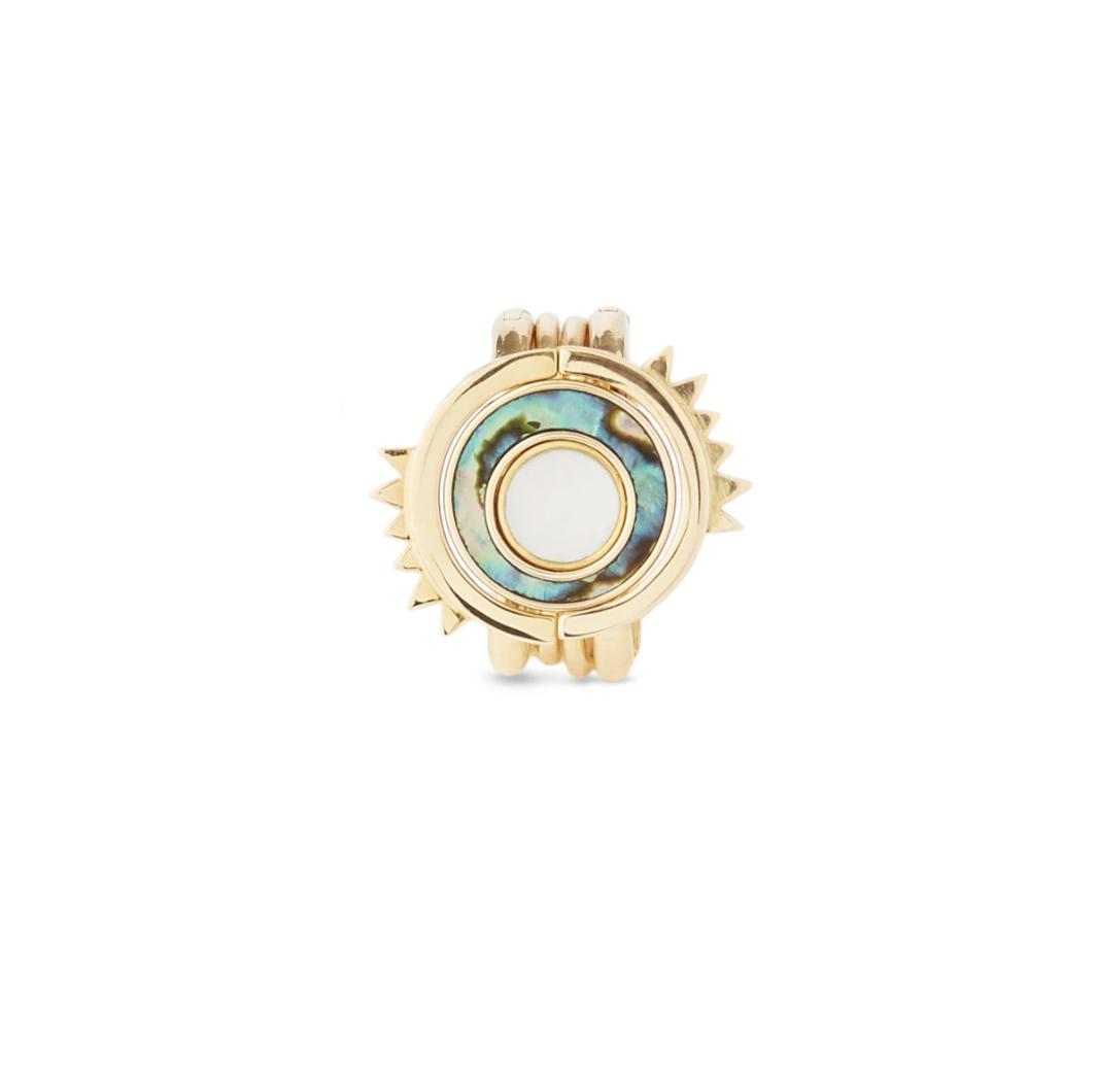 Solana 4-in-1 rings/ earrings.